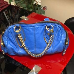 Royal blue orYANY bag, excellent condition
